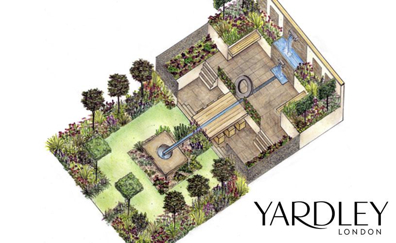 The garden post barbara segall the ascot spring garden for Pip probert garden designer