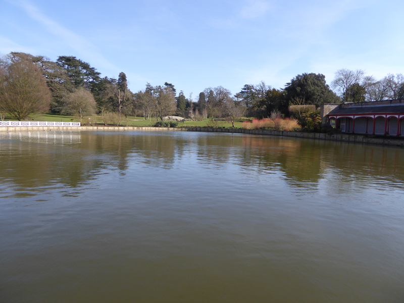 Chinese Dairy Pond at woburn abbey