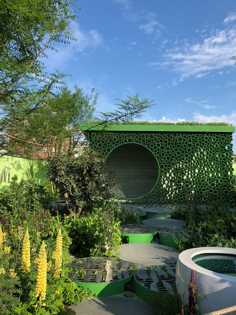 Peavilion at 2018 Chelsea Flower Show